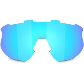 Bliz Fusion Reserve Lens, smoke/blue multi